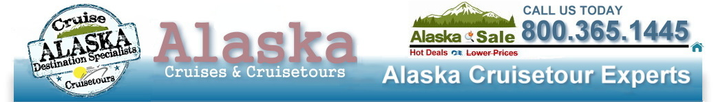 Alaska Cruises 2014 & Alaska Cruise Tours 2014 - Certified Alaska Cruise and Travel Experts. We specialize in Alaskan Cruises and Alaska Cruise Tours from these popular departure ports: Alaska cruises and cruisetours round-trip from Seattle, Alaska Cruises and cruisetours northbound from Vancouver, Alaska Cruises from San Francisco, Alaska Cruises and cruisetours southbound from Whittier, Anchorage, and Seward.  Alaska cruisetours that start in Fairbanks. Call us today for the best prices and availability. Many unpublished rates that can't be shown on the Internet. Call Now 800.365.1445 to book your Alaskan Cruise or Alaska Cruise Tour.