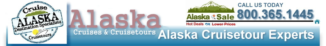 Alaska Cruises Direct - Certfied Alaska Destination Specialists - Let us help you plan the perfect Alaska cruise or cruisetour vacation - Call us at 800.365.1445 today.