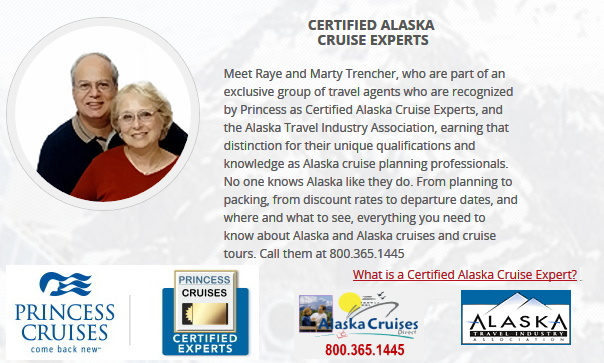 No one knows Alaska like they do. From planning to packing, from discount rates to departure dates, and where and what to see, everything you need to know. Call them at 800.365.1445