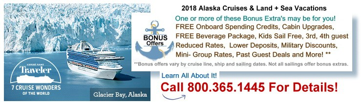 May To September Alaska Cruises And Alaskan Land And Sea - Alaskan cruise prices