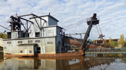 2015 princess alaska cruise tour review the train ride took us to gold dredge 8 where we saw first hand how the dredge worked the gold fields then we received a brief but informative course on sciox Images
